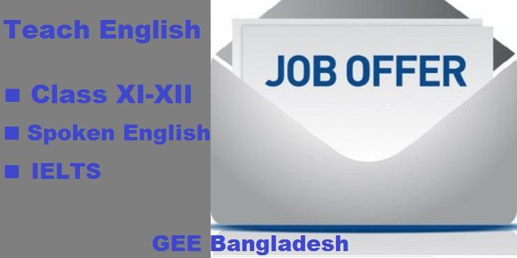 Teach English at GEE Bangladesh
