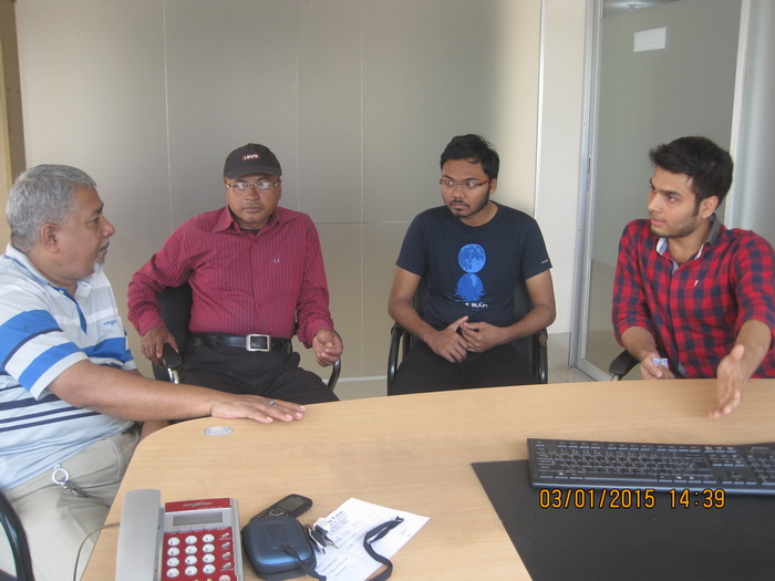 Student-Guardian discussion at GEE Bangladesh