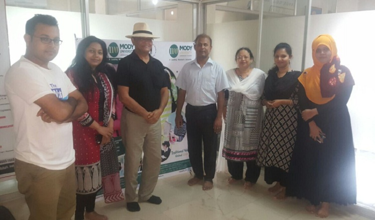 Mody University Delegation at GEE Bangladesh