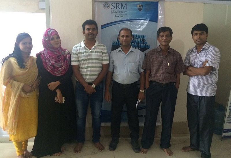 SRM University delegation at GEE Bangladesh