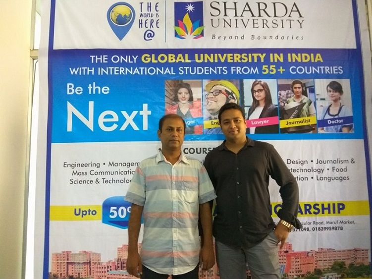 Sharda University delegation at GEE Bangladesh