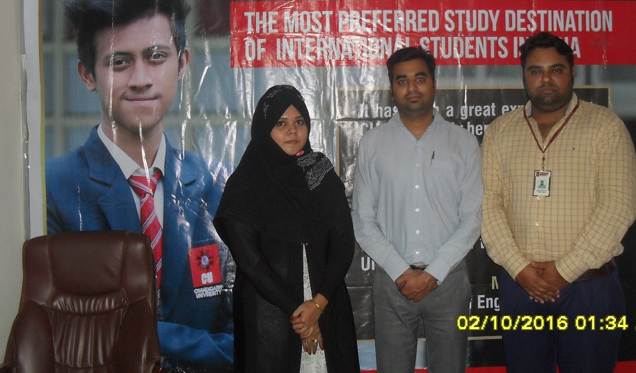 Chandigarh University delegation at GEE Bangladesh