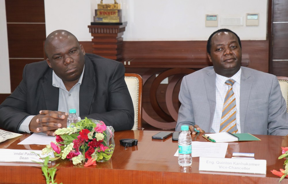 Delegation from Zimbabwe Visits Sharda University