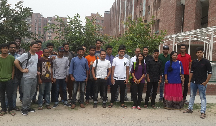 Bangladeshi Freshers at Sharda University