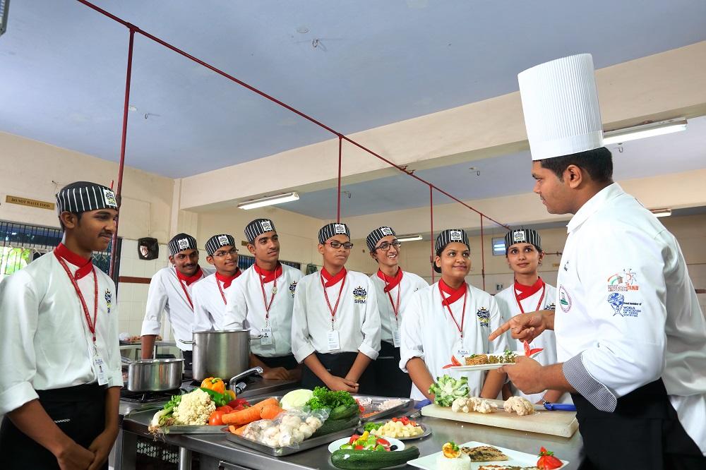 SRM University Hotel Management