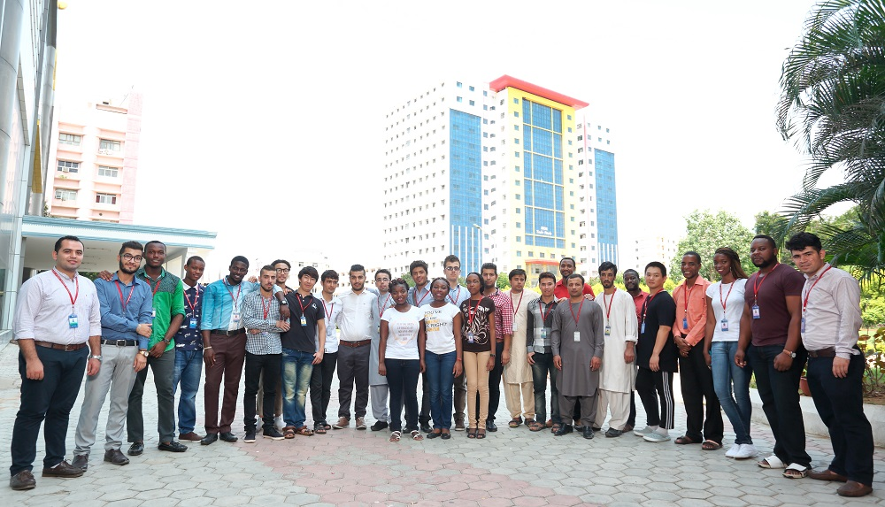 SRM University Foreign Students