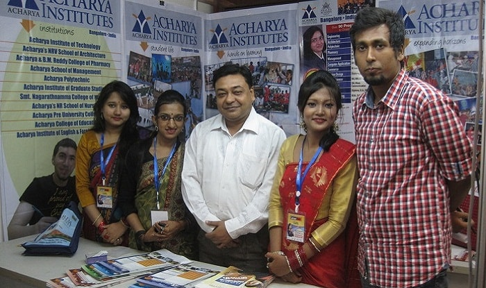 Acharya Institutes at Bangladesh Fair with GEE