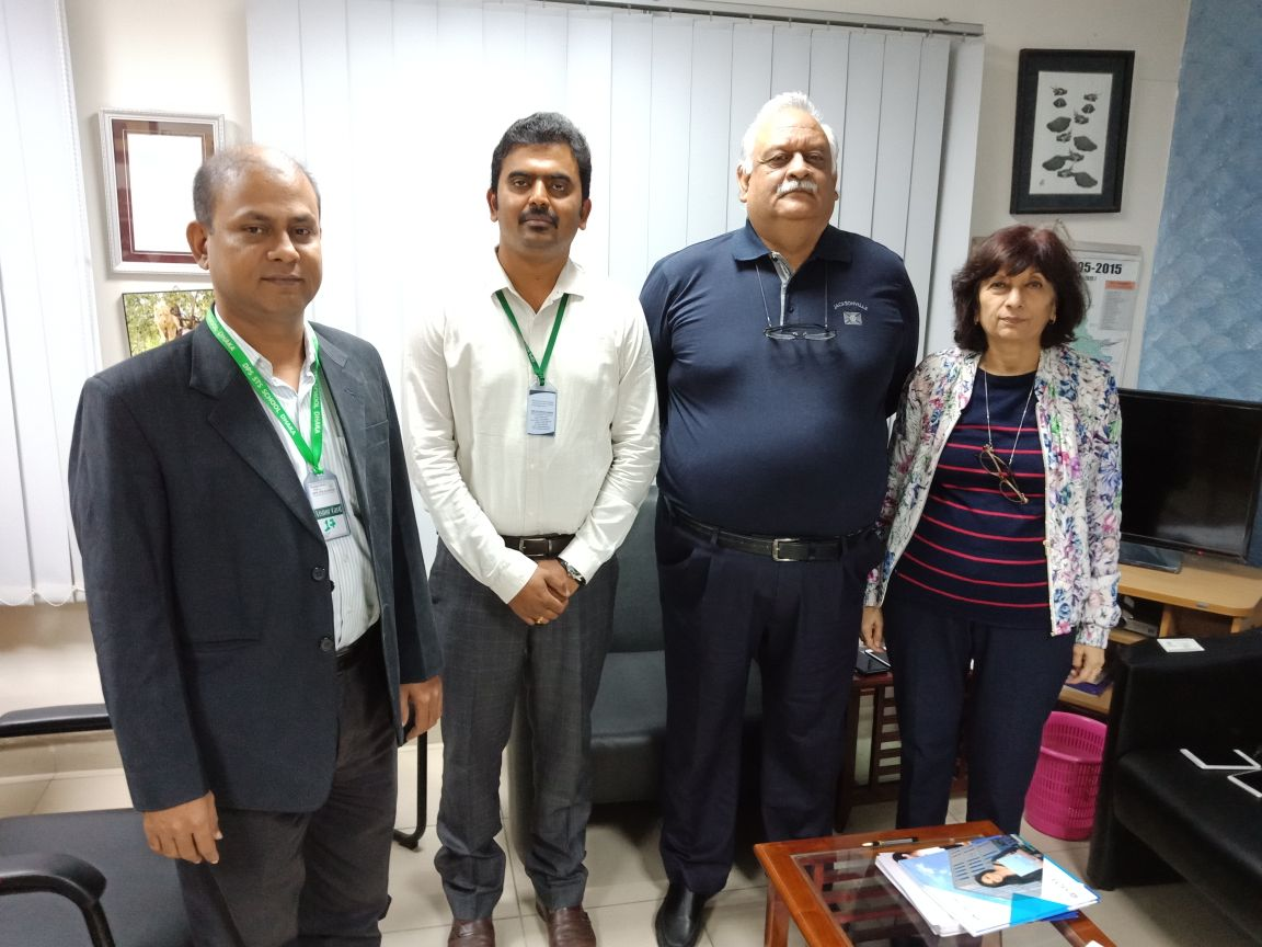 SRMIST delegate visits DPS School Dhaka