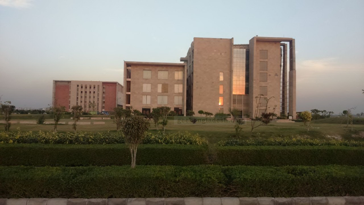 Galgotias University Campus view