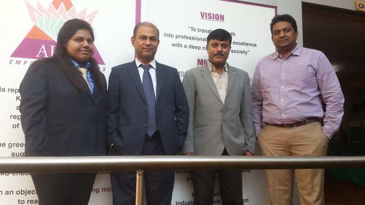 CEO of GEE Bangladesh visits AIMS Institutes