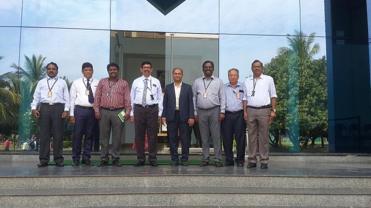 GEE Bangladesh CEO visits Sree Vidyanikethan