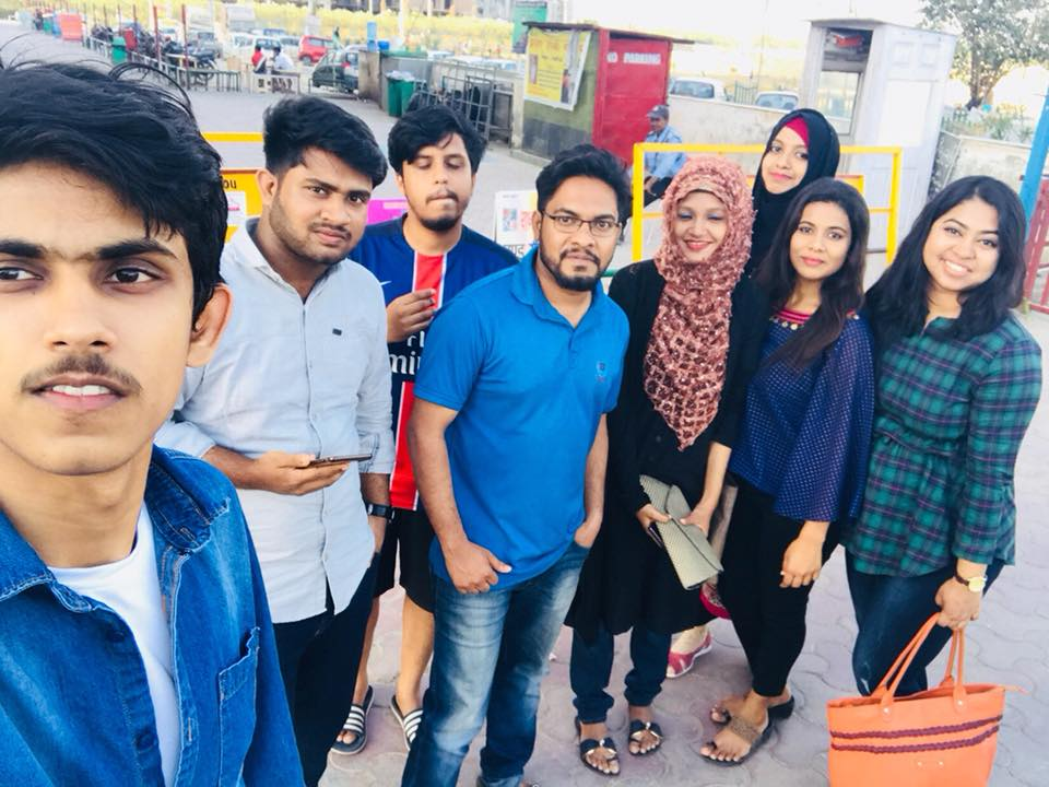 GEE Bangladesh Students at Sharda University