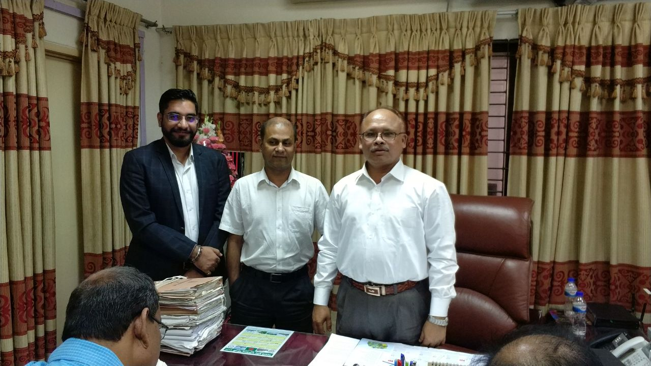 Meeting with Chairman sir of Dhaka Education Board