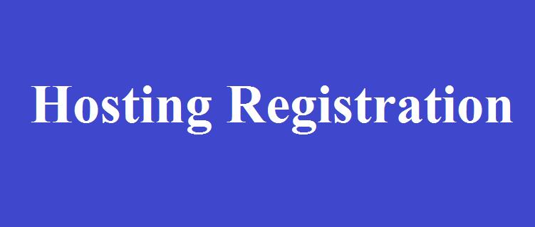 Hosting Registration