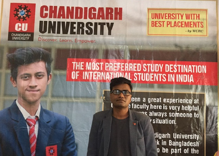 Amit Ghosh speaks about Chandigarh University
