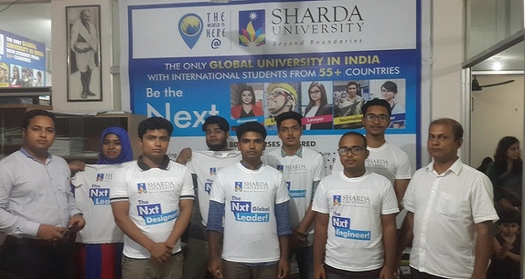 Sharda university admission office Bangladesh