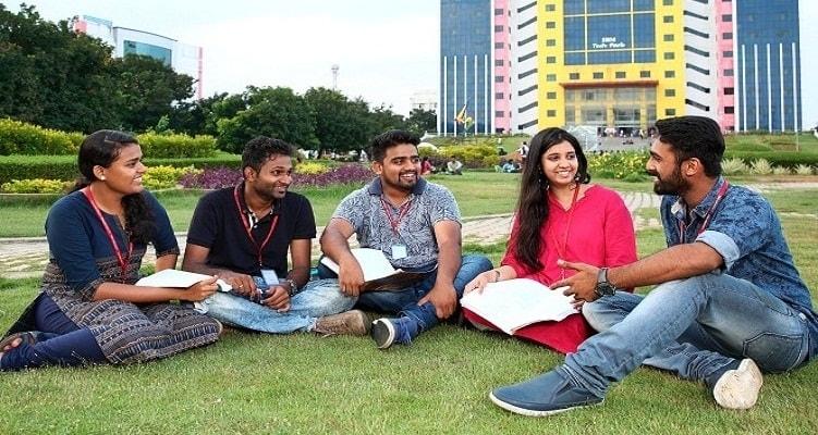 SRM University Campus Video